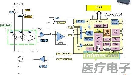 咸易红外线发射接收电路图